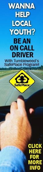 Be an ON-Call Driver with our Safe Place Program and help a LOCAL youth who is in need of immediate help - Tumbleweed Center for Youth Development Safe Place Program Phoenix, Arizona